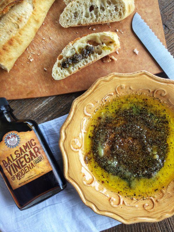 Bread Dipping Oil, Barrel Aged Creations, Bourbon Barrel Aged Balsamic Vinegar
