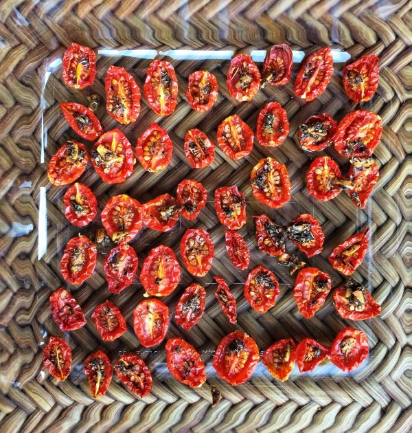 Bacon Maple Roasted Tomatoes, Barrel Aged Creations , maple syrup roasted tomatoes, candied tomatoes, semi dried tomatoes, maple syrup recipe, bacon maple syrup, smoky maple syrup, barrel aged maple syrup recipe, cooking with maple syrup, tomato appetizer, tomato recipe, barrel aged maple syrup, bourbon maple sauce, whiskey maple sauce, maple bacon roasted tomatoes, maple bacon tomatoes, bacon maple tomatoes