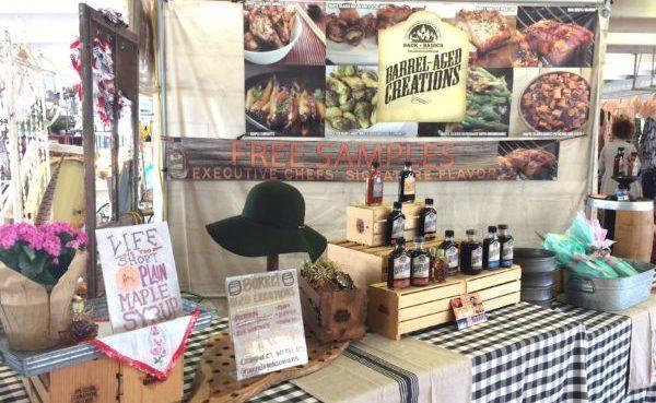 barrel-aged-creations-vintage-market-days-of-west-atlanta-bourbon-barrel-aged-maple-syrup