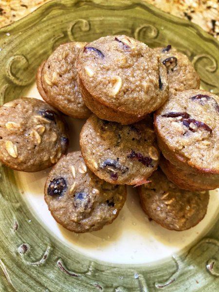 cranberry orange blender muffins, recipe, barrel aged creations